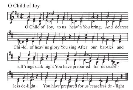 Notes -Txt O Child of Joy