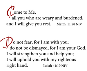 Bible Come - Do not fear small