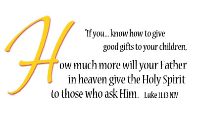 Luke 11-13 Holy Spirit